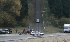 200 km/s Hızla Araç Çarpışma Testi
