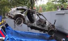 1000 Beygirlik Audi RS6 DTM'den Geriye İskeleti Kaldı