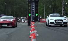 Audi RS7, Ferrari F12'ye Karşı