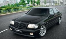 Brabus'un En özel Parçalarından: 7.3 litre Mercedes S600 W140