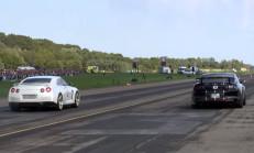 783 BG Ford Shelby Mustang Devlerle Drag Pistinin Tozunu Alıyor