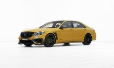 Brabus Rocket 900 (Mercedes S 65 AMG) Gold Paket Yayınlandı