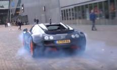 Bugatti Veyron Vitesse Lastik Yakarsa!