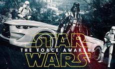 Bunlarda Star Wars Temalı Otomobiller