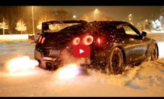 Kar Üzerinde Nissan GT-R Launch Control Keyfi