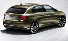 Yeni Fiat Egea (Tipo) Hatchback Modeli de Yolda