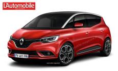 2017 Yeni Kasa Renault Scenic Geliyor
