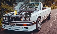 190 km/s ile Giderken BMW E30 Turbo'nun Motorunu Yaktı
