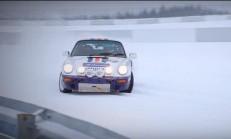 Porsche 911 SC-RS, Karlı Nürburgring'in Keyfini Çıkarıyor
