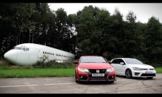 Honda Civic Type R Mı Yoksa VW Golf R Mı Daha Hızlı?