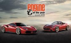 Ferrari'nin V8 Turbosu Yılın Motoru Seçildi