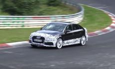 2018 Yeni Audi RS3 Sedan Ring'in Tozunu Aldı
