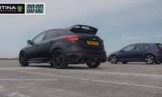 Hangisi Daha Hızlı: Ford Focus RS – Volkswagen Golf R