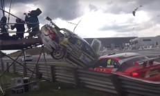 2016 BTCC Yarışlarındaki Korkunç Kaza