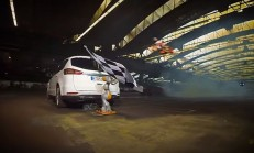 Ford Takımından Drone'lu Drift Videosu