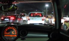 Mini Clubman Devlerle Gece Yarışında