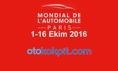 2016 Paris Auto Show'da Sergilenecek Araçların Listesi