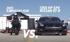 Tekerlerin Savaşı: Kawasaki H2R – 1350 BG Nissan GTR