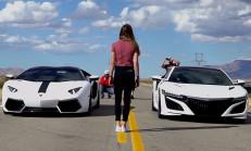 Hangisi Geçer: Lamborghini Aventador – Acura NSX