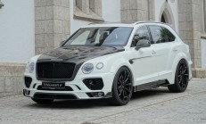 Mansory ile Bentley Bentayga 701 PS