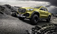 2017 Yeni Mercedes-Benz X-Serisi (Pick-Up) Tanıtıldı