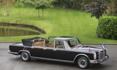 Bir Zamanlar Tito'nun Gözdesiydi: 1971 Mercedes-Benz 600 Pullman Landaulet
