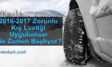 2016-2017 Zorunlu Kış Lastiği Uygulaması Ne Zaman Başlıyor?