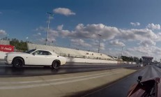 800 Beygirlik Dodge Challenger Hellcat, Huracan'a Karşı