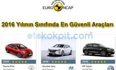 Euro NCAP, 2016 Yılının Sınıfında En Güvenli Araçlarını Seçti