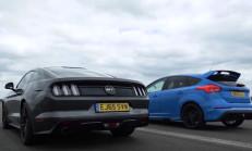 Bu Sefer ki İddia Büyük: Ford Mustang – Ford Focus RS