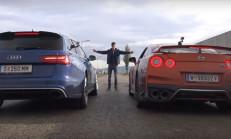 Hangisi Geçer? Audi RS6 Performance – 2017 Nissan GT-R