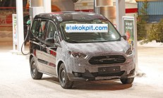 Makyajlı 2018 Ford Courier Görüntülendi