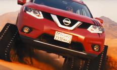 Nissan X-Trail, Paletlerini Taktı Çöle İndi