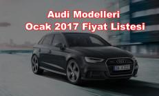 Audi Modelleri Ocak 2017 Fiyat Listesi