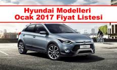 Hyundai Modelleri Ocak 2017 Fiyat Listesi