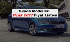 Skoda Modelleri Ocak 2017 Fiyat Listesi