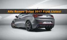 Alfa Romeo Modelleri Şubat 2017 Fiyat Listesi
