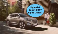Hyundai Modelleri Şubat 2017 Fiyat Listesi