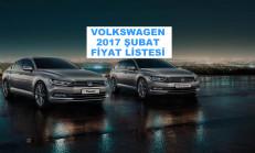 Volkswagen Modelleri Şubat 2017 Fiyat Listesi