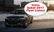 Volvo Modelleri Şubat 2017 Fiyat Listesi