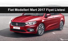 Fiat Modelleri Mart 2017 Fiyat Listesi