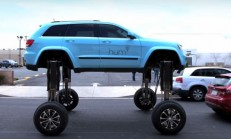 Jeep Grand Cherokee ile Trafikte Kalmaya Son!