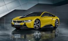 2018 Yeni BMW i8 Protonic Frozen Yellow Tanıtıldı