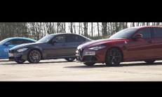 Devler Kozlarını Paylaşıyor: Alfa Romeo Giulia QV – BMW M3 – Mercedes-AMG C63 S