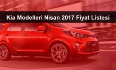 Kia Modelleri Nisan 2017 Fiyat Listesi