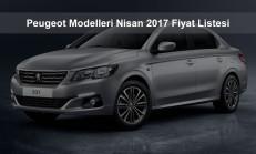 Peugeot Modelleri Nisan 2017 Fiyat Listesi