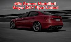 Alfa Romeo Modelleri Mayıs 2017 Fiyat Listesi