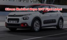 Citroen Modelleri Mayıs 2017 Fiyat Listesi