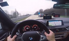 2017 BMW 730d, Otobanda Passat W8'e Denk Gelirse