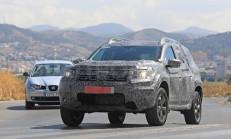 2018 Yeni Kasa Dacia Duster Testte Yakalandı